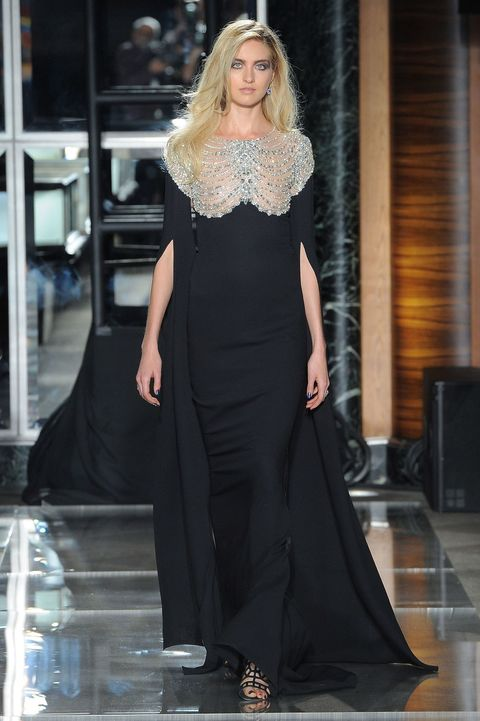 Fashion model, Clothing, Dress, Fashion, Gown, Shoulder, Haute couture, Blond, Hairstyle, Long hair,