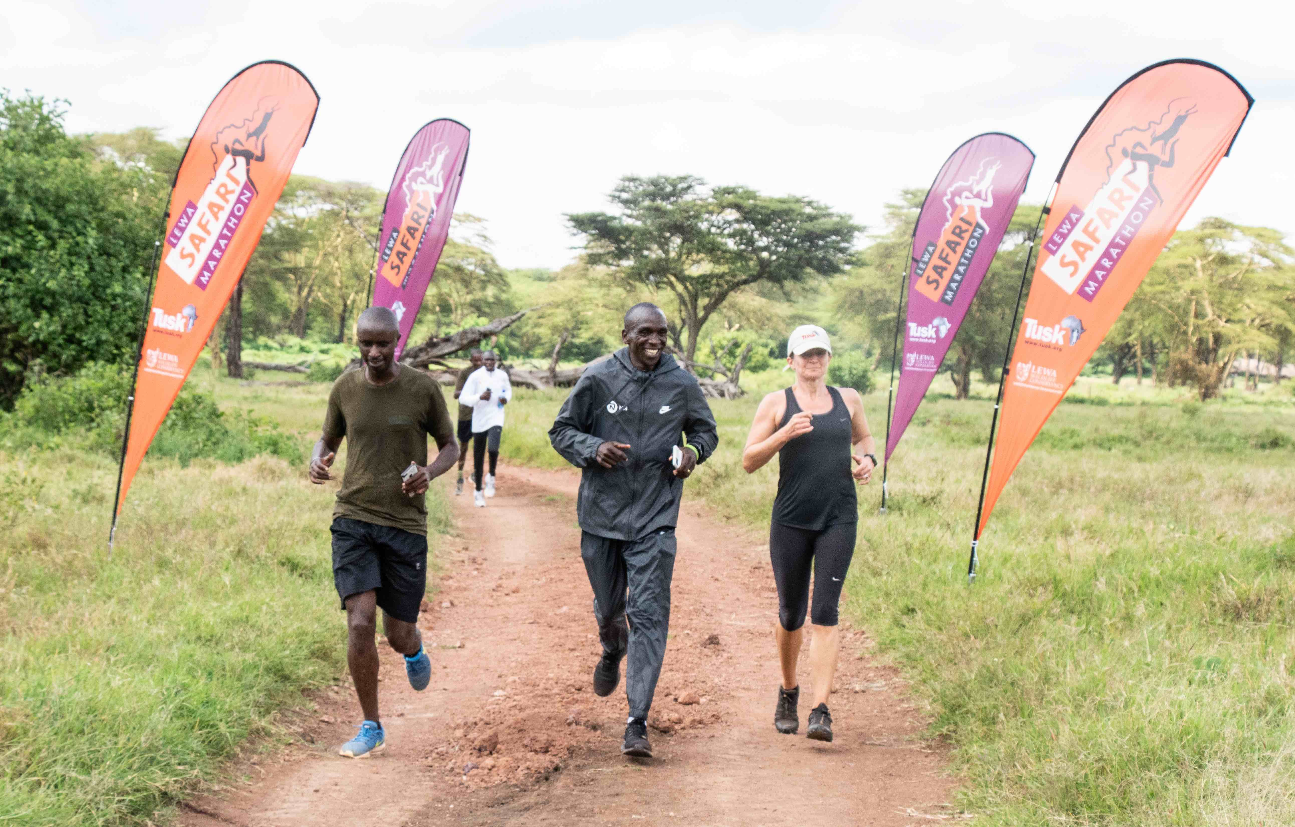 Eliud Kipchoge has a message for runners around the world
