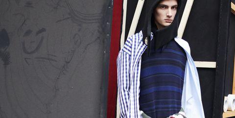 White, Clothing, Red, Fashion, Photo shoot, Textile, Fashion design, Design, Model, Black hair,