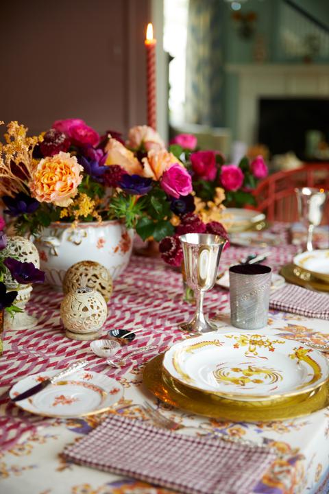 ruth runberg thanksgiving tablescape