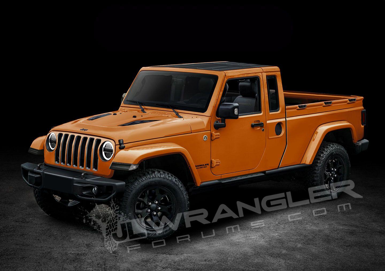 Future jeep pickup truck
