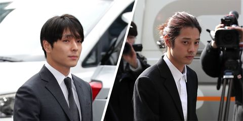 Two K-Pop stars have been jailed on gang rape charges