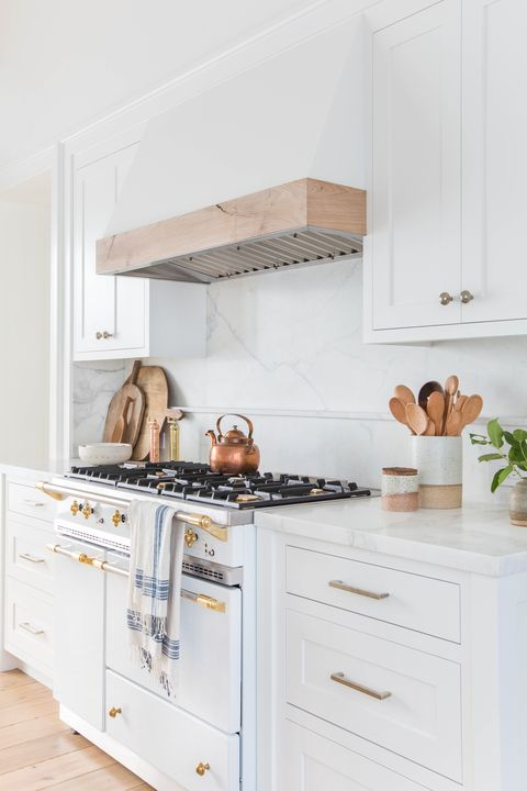White Kitchen With Range Hood