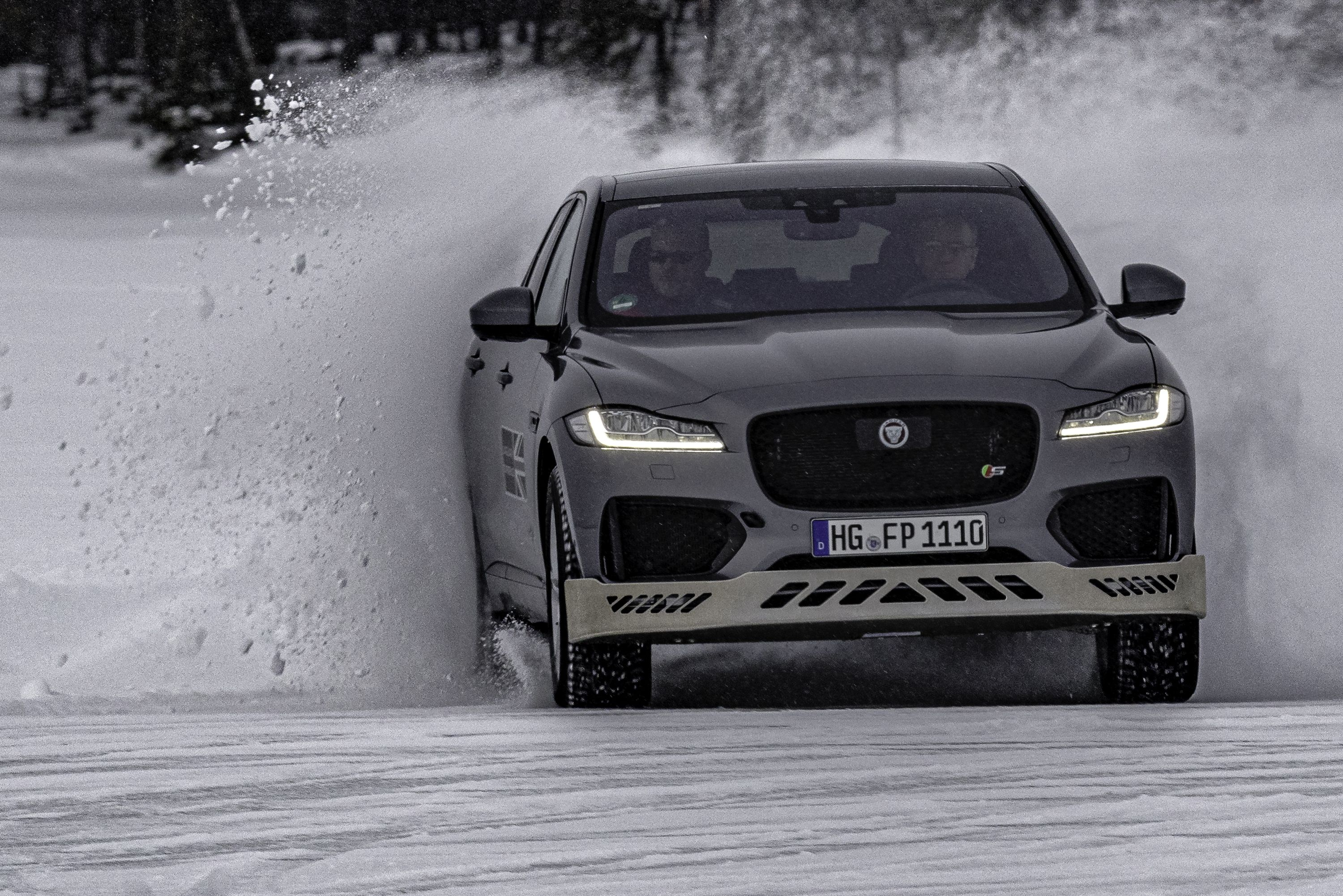 Learning to Drive in the Snow...in a Jag
