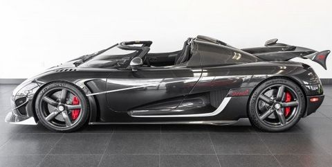 Carbon Fiber Koenigsegg Agera Rs Draken For Sale In The Us