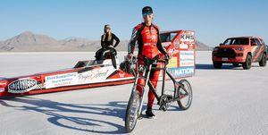 Denise Mueller-Korenek Bicycle Speed Record