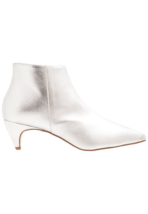 Footwear, White, Boot, Shoe, Beige, Joint, Leather, Metal,