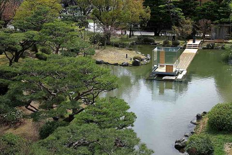 《硝子の茶室 聞鳥庵》2014年 京都市京セラ美術館
