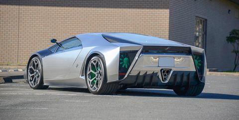 Kode 0 Lamborghini Custom One Off For Sale Bespoke Wedge Shaped