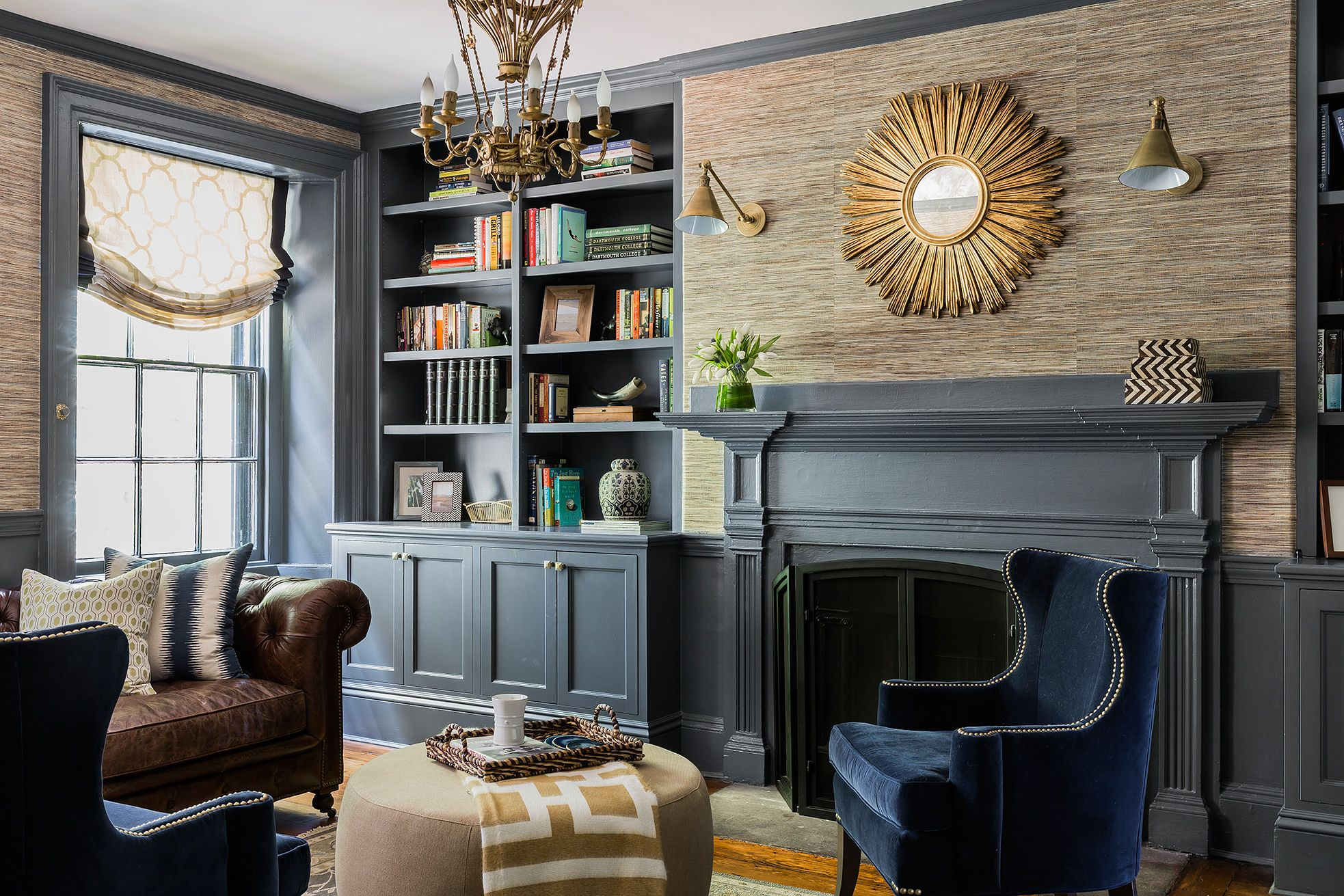 image & 15 Best Dark Paint Color Rooms - How to Decorate With Dark Colors