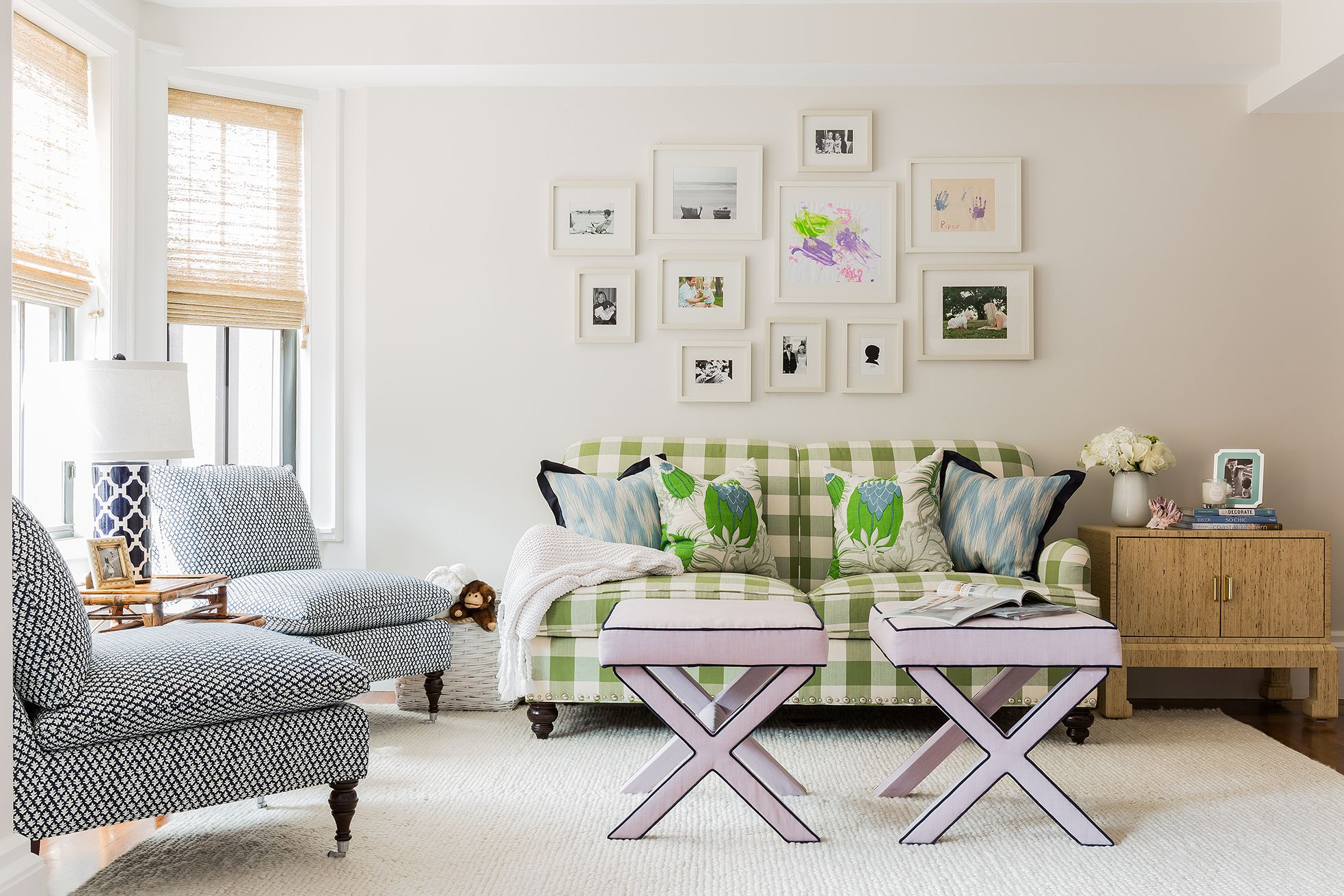 Courtesy of Erin Gates Design & 15 Best Small Living Room Ideas - How to Design a Small Living Room