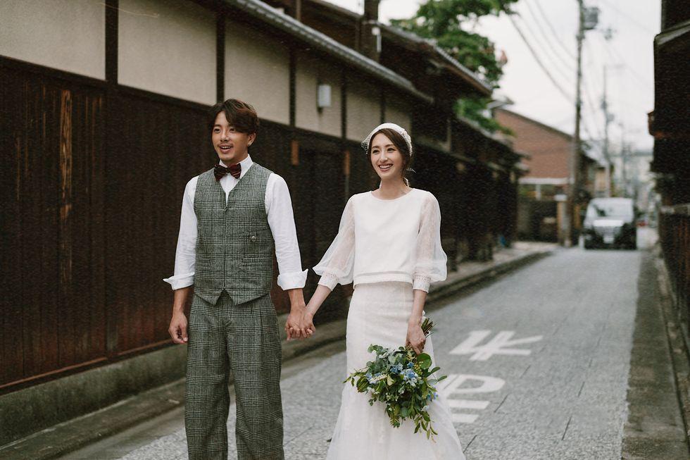 柯佳嬿 ,坤達,婚紗照, MS IDEAS,訂製婚紗,日本,日系婚紗,婚禮,ELLE WEDDING ,白紗