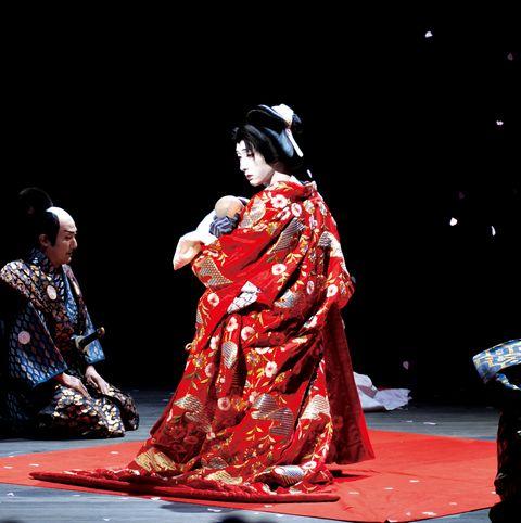 桜姫を演じる七之助さん