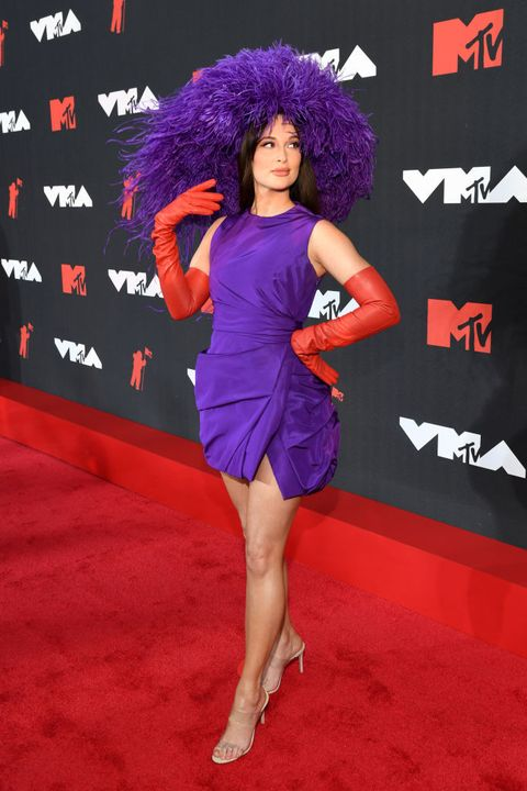 2021 mtv video music awards alfombra roja kacey musgraves