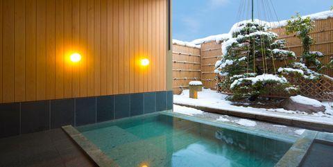 「星野リゾート 界 加賀」の露天風呂