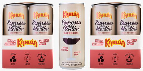 Kahlúa Just Released an Espresso Martini in a Can for the Most Convenient Cocktail