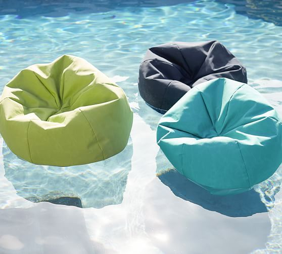 This Bean Bag Pool Float Is the Perfect Spot for a Summer Nap