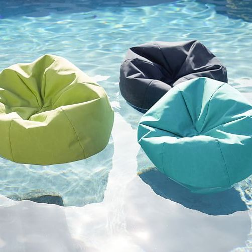 This Bean Bag Float is the Perfect Spot for a Summer Nap in Your Pool