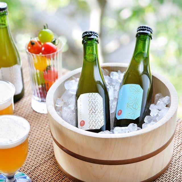 桶に入ったビール&ノンアルビール