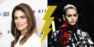 Cindy crawford en Kaia Gerber style twins, who wore it better