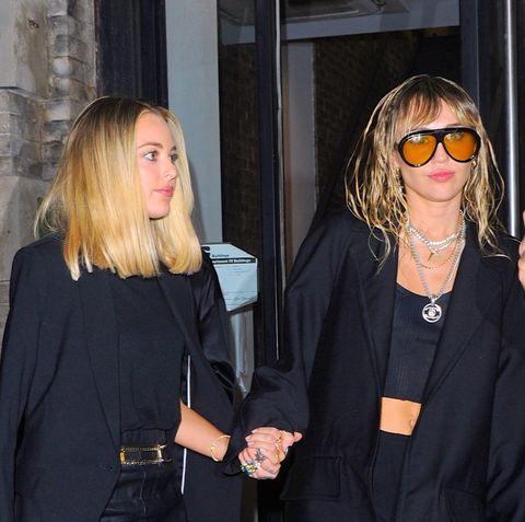 Miley Cyrus and Kaitlynn Carter