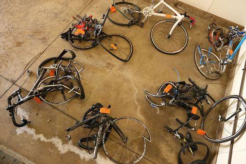 Kalamazoo Bike Crash Bikes