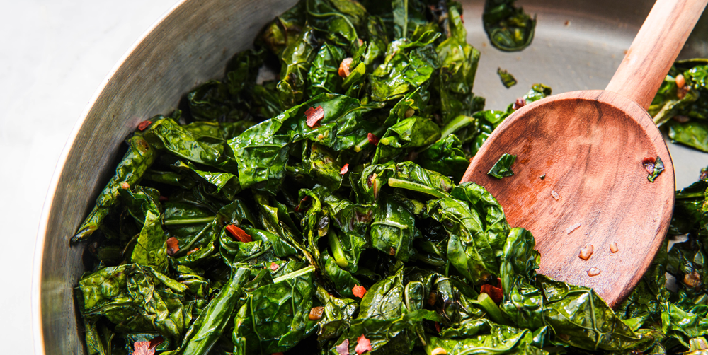 How to Cook Kale - Easy Recipe for Sauteed Kale