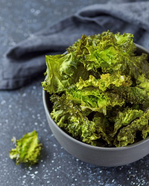 Kale Chips ready-to-eat, copy space left