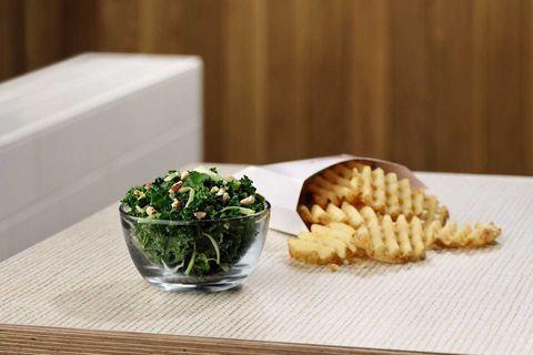Chick-fil-A Is Testing A Vegan Kale Crunch Salad
