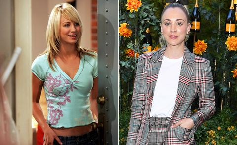 Kaley Cuoco, The Big Bang Theory, then and now