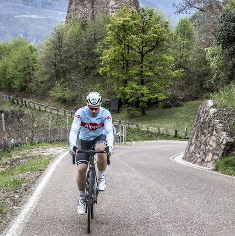 Op trainingskamp in Kaltern - Marco Peeters leeft als wielerprof