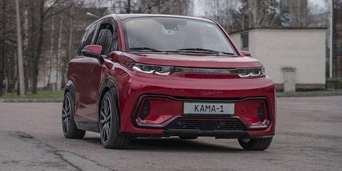 kama 1 coche electrico ruso