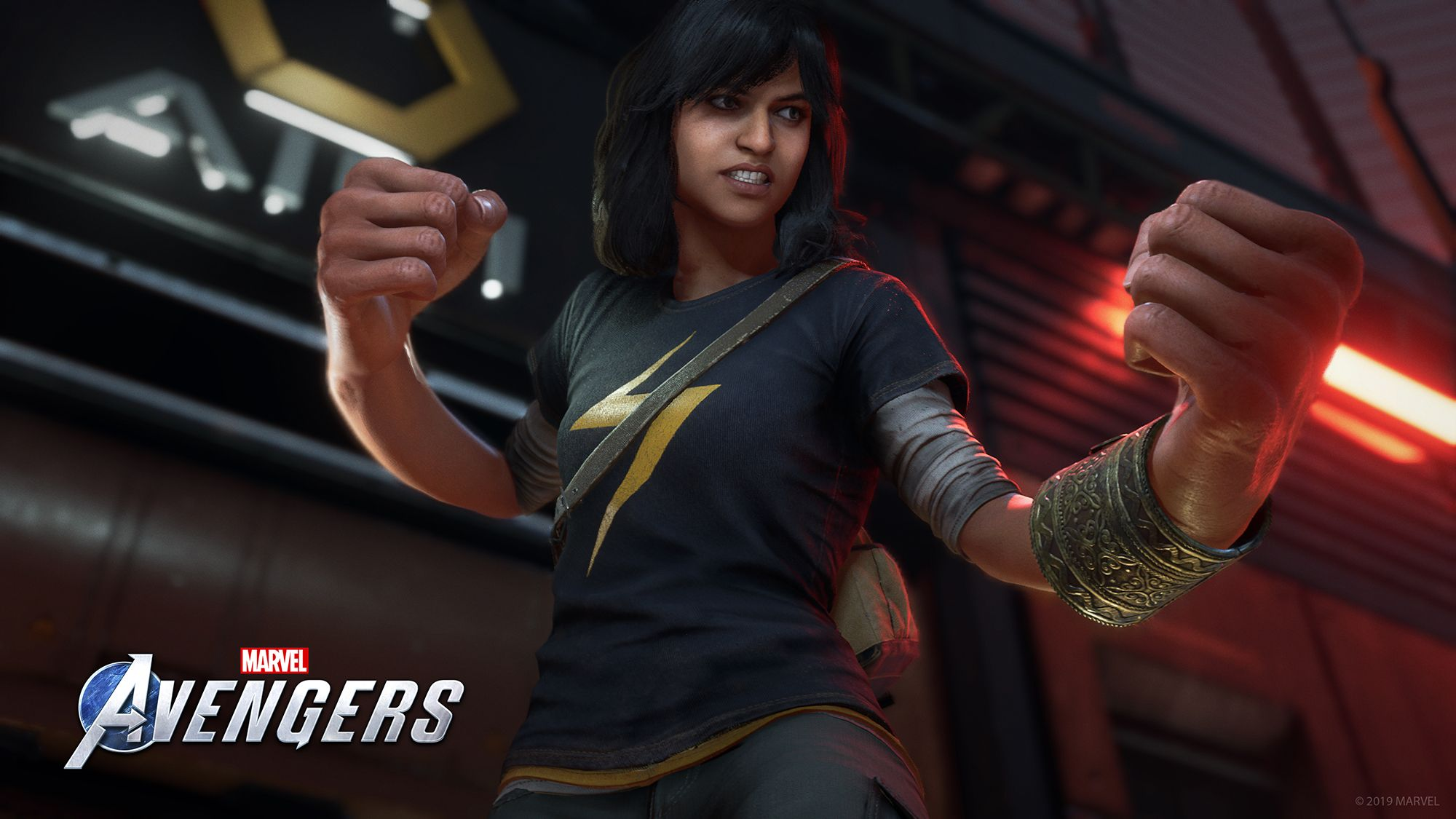 Kamala Khan—A.K.A. Ms. Marvel—Was Just Revealed in a New Trailer for the Marvel's Avengers Video Game