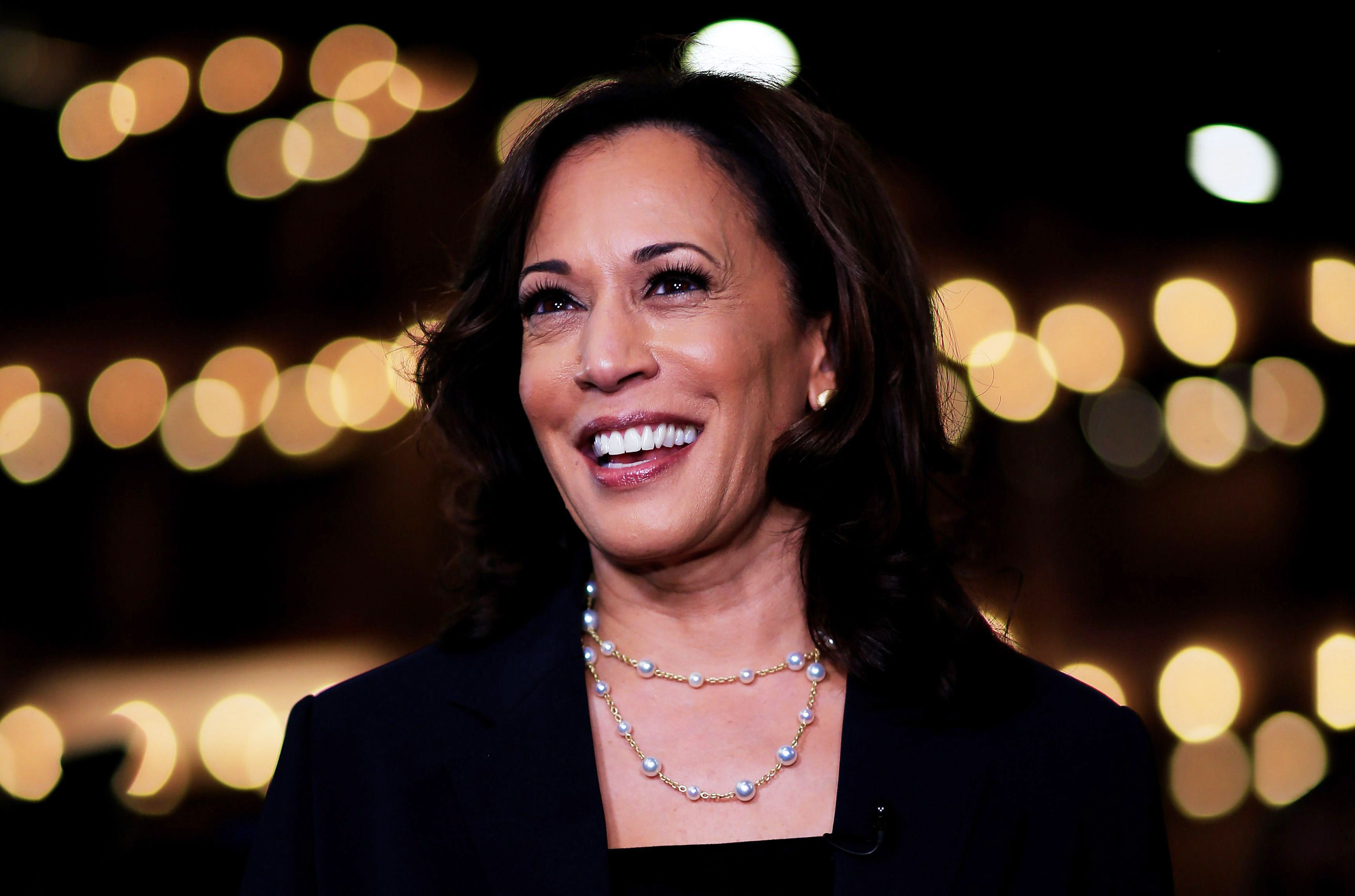 How Celebrities Reacted to Kamala Harris' VP Announcement
