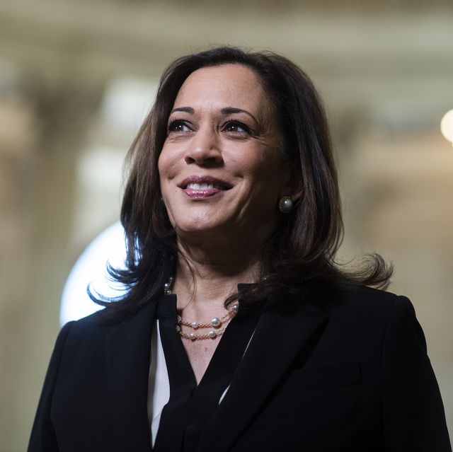 sen kamala harris, d calif, is seen after an interview in russell building on wednesday, june 24, 2020 photo by tom williamscq roll call, inc via getty images