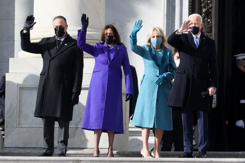 kamala harris and jill biden's inauguration fashion