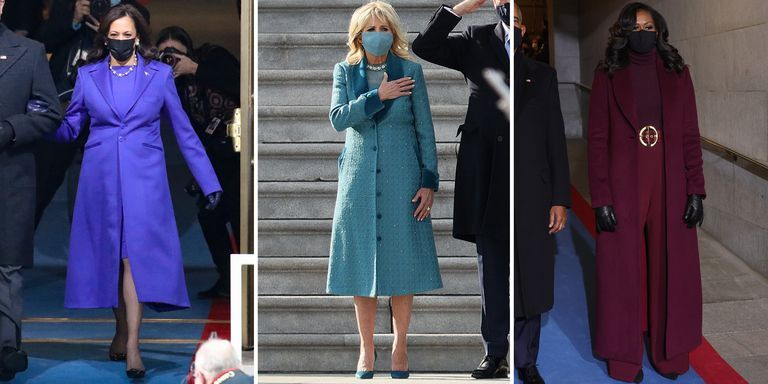Why Everyone at the Inauguration Dressed in Monochrome Colors
