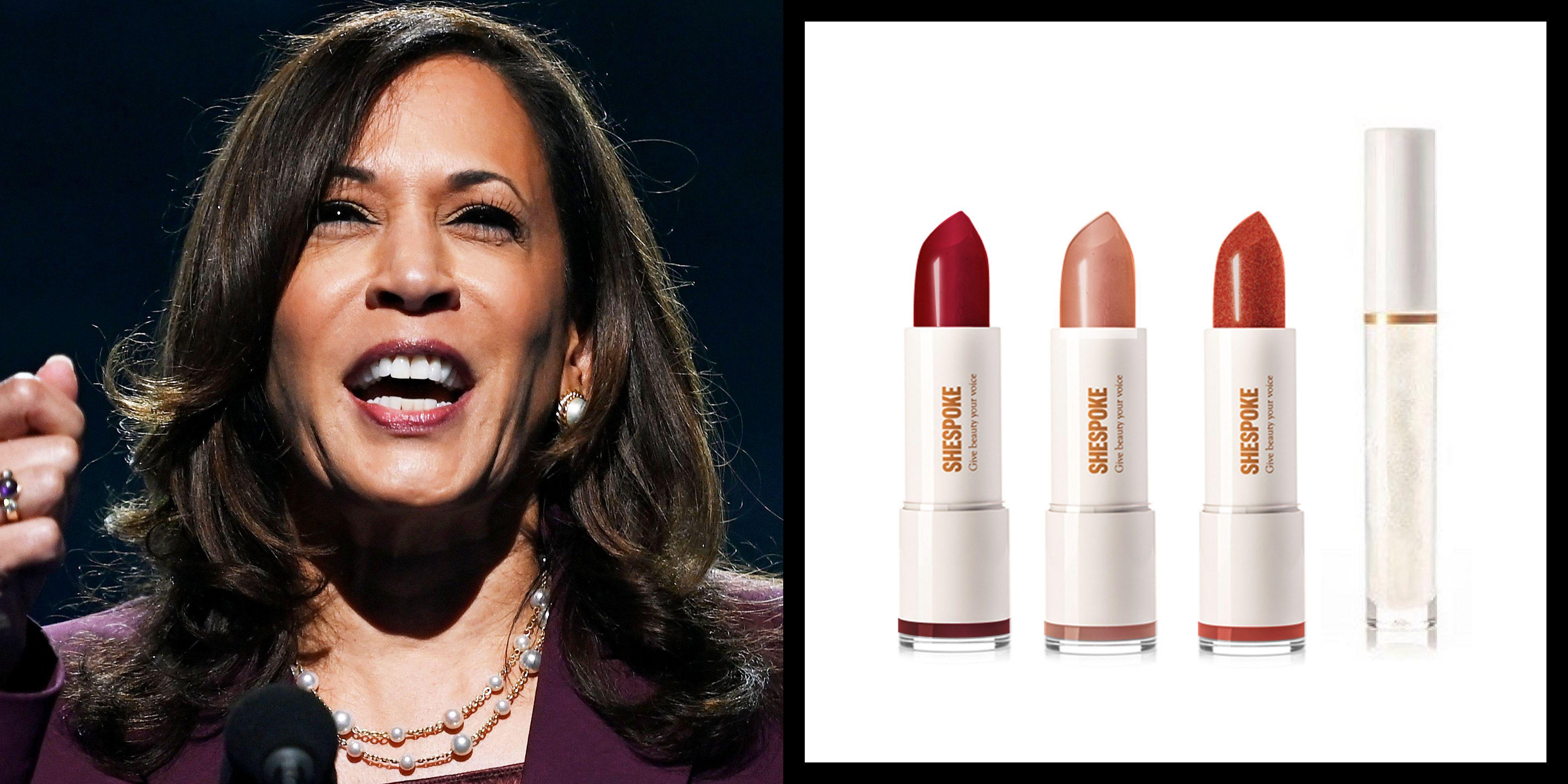 "Meet the Kamala Harris-Inspired Lipstick Called ""I'm Speaking"""