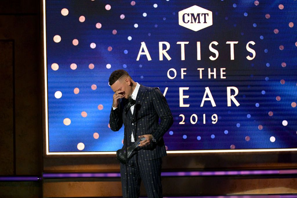 Kane Brown Breaks Down While Paying Tribute to Late Drummer Kenny Dixon
