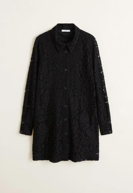 Kanten-jurk