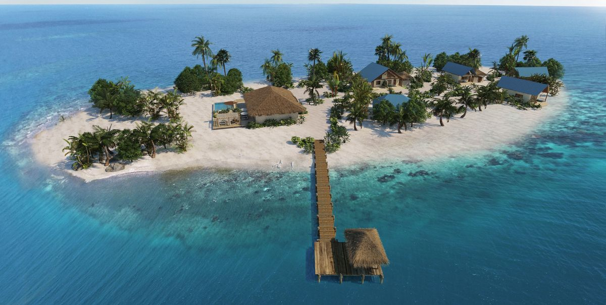 You and 7 Friends Can Rent This Private Island in Belize for Just $500 a Person Per Night
