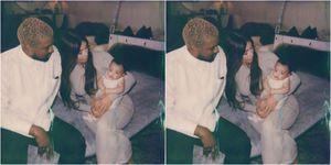 Kanye Kim Chicago Kardashian West