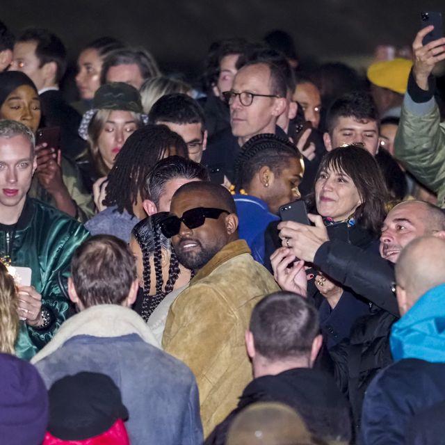 Kanye West S Yeezy Season 8 Show Surprises At Paris Fashion Week