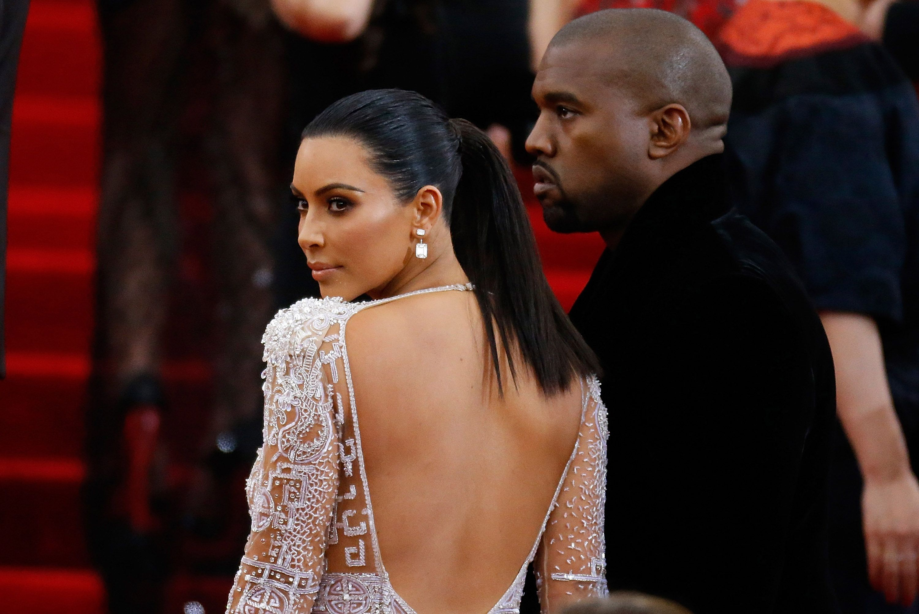Kim Kardashian and Kanye West Are Very Riled Up About the Jordyn Woods-Tristan Thompson Drama