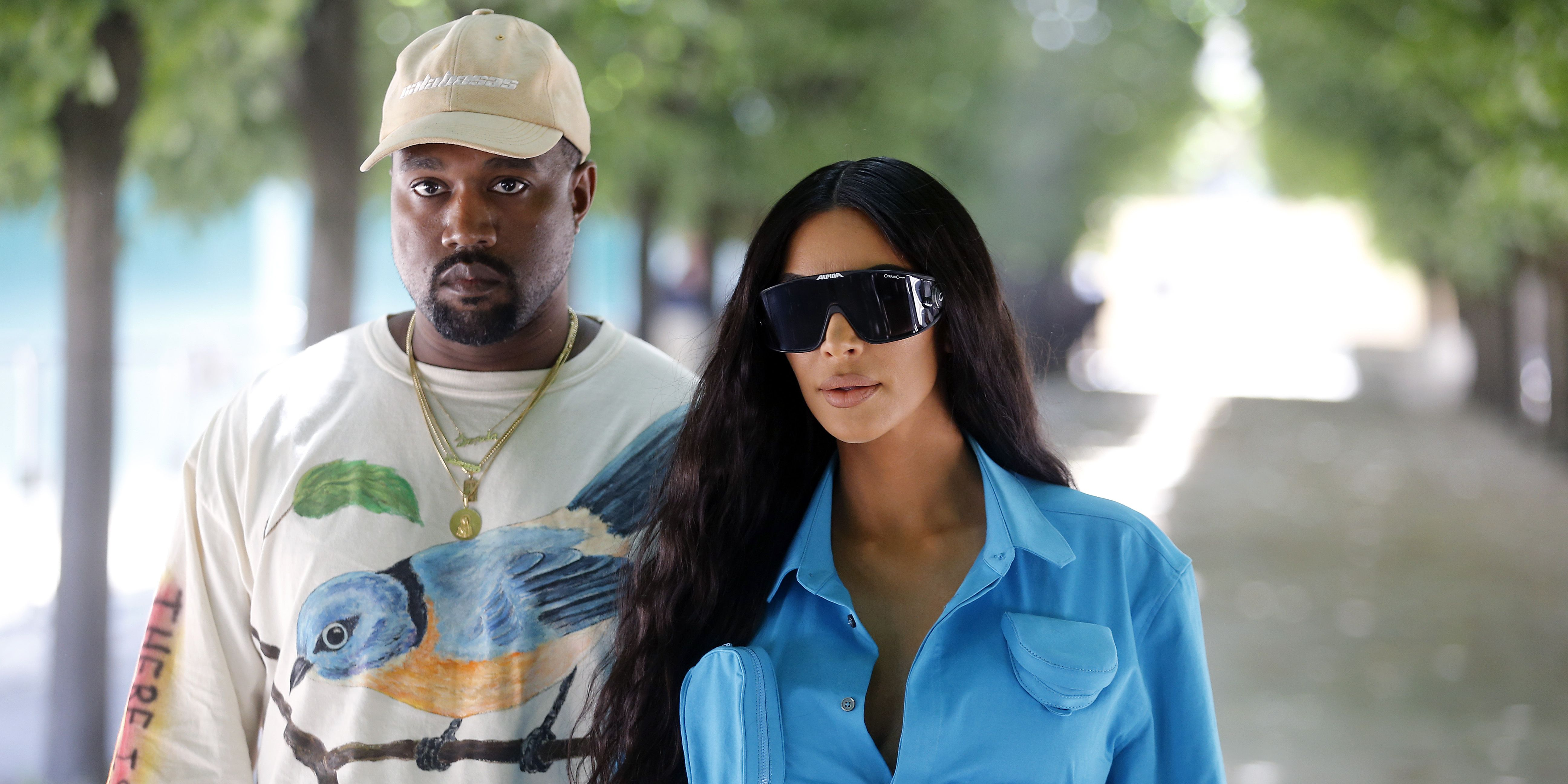 Kanye West kiest Kim Kardashian als model voor Yeezy