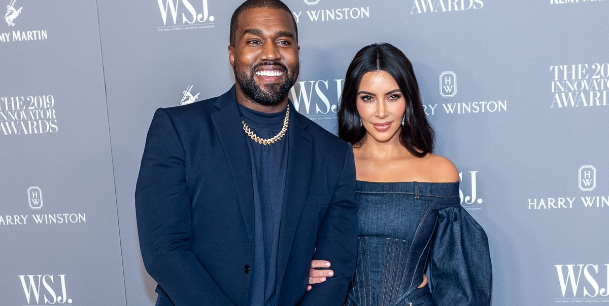 """According to Kim Kardashian, Kanye West Is """"Very Simple"""" and Only Needs a Brownie and Ice Cream to Be Happy - Cosmopolitan"""