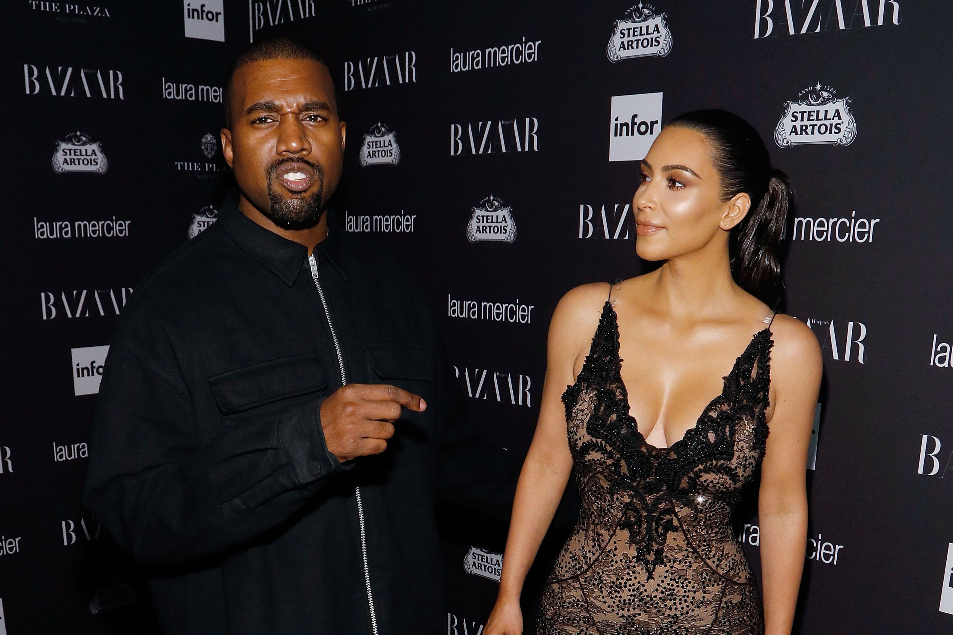 Why Not: Kanye Gives Kim Yet Another Massive DiamondRing pictures