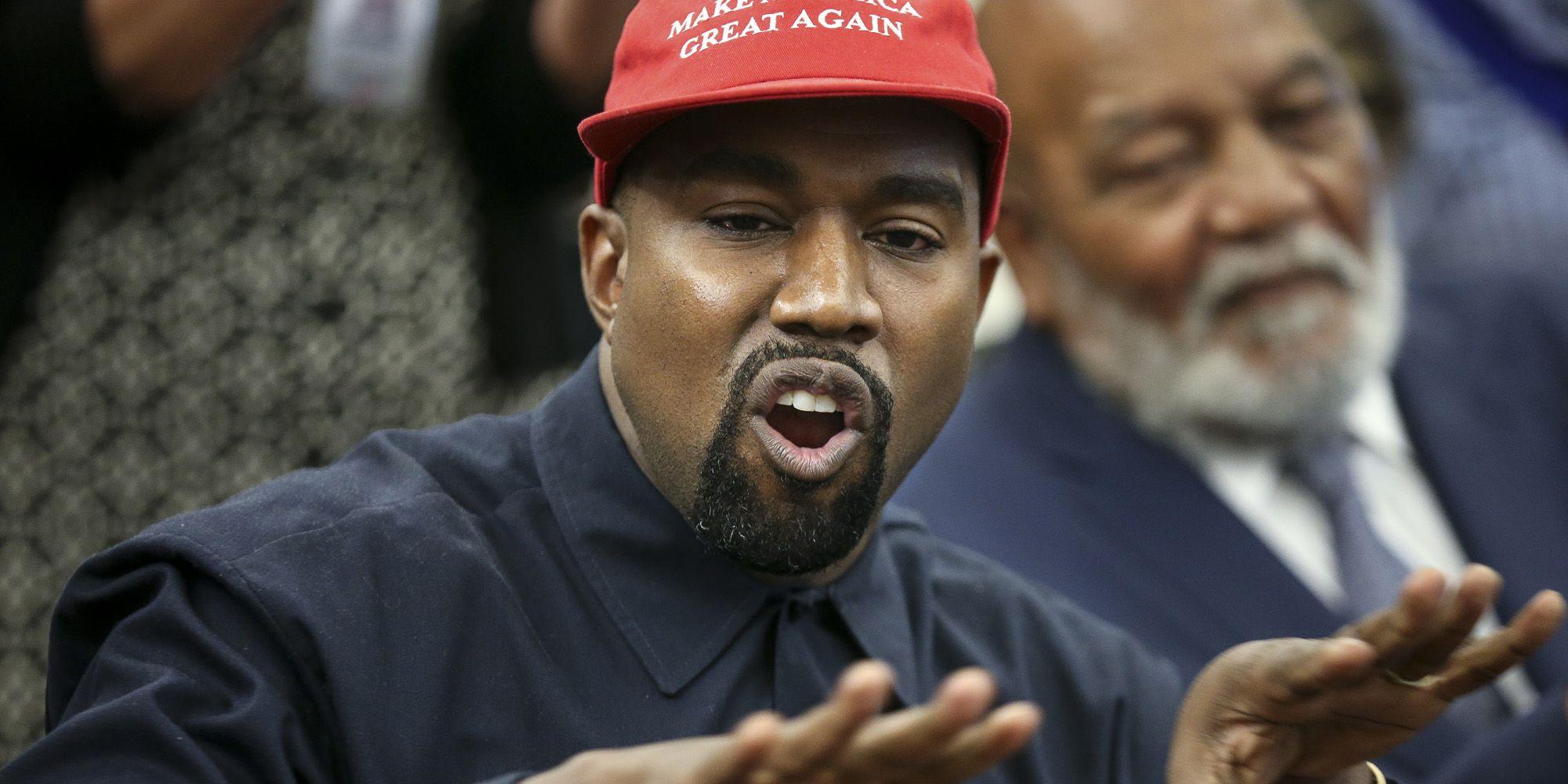 Kanye West blexit