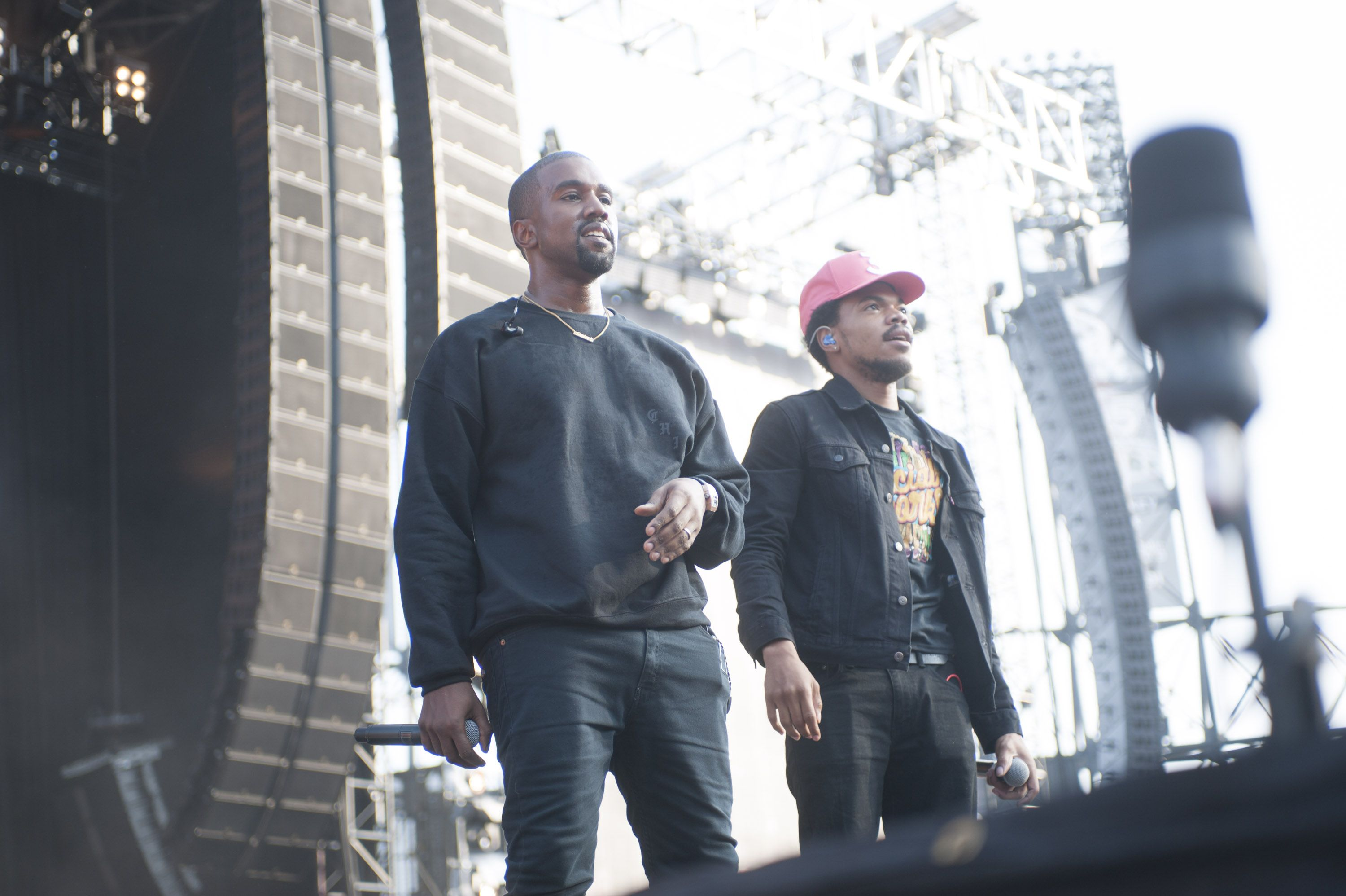 Kanye Chopping Teases New Song With Chance the Rapper and