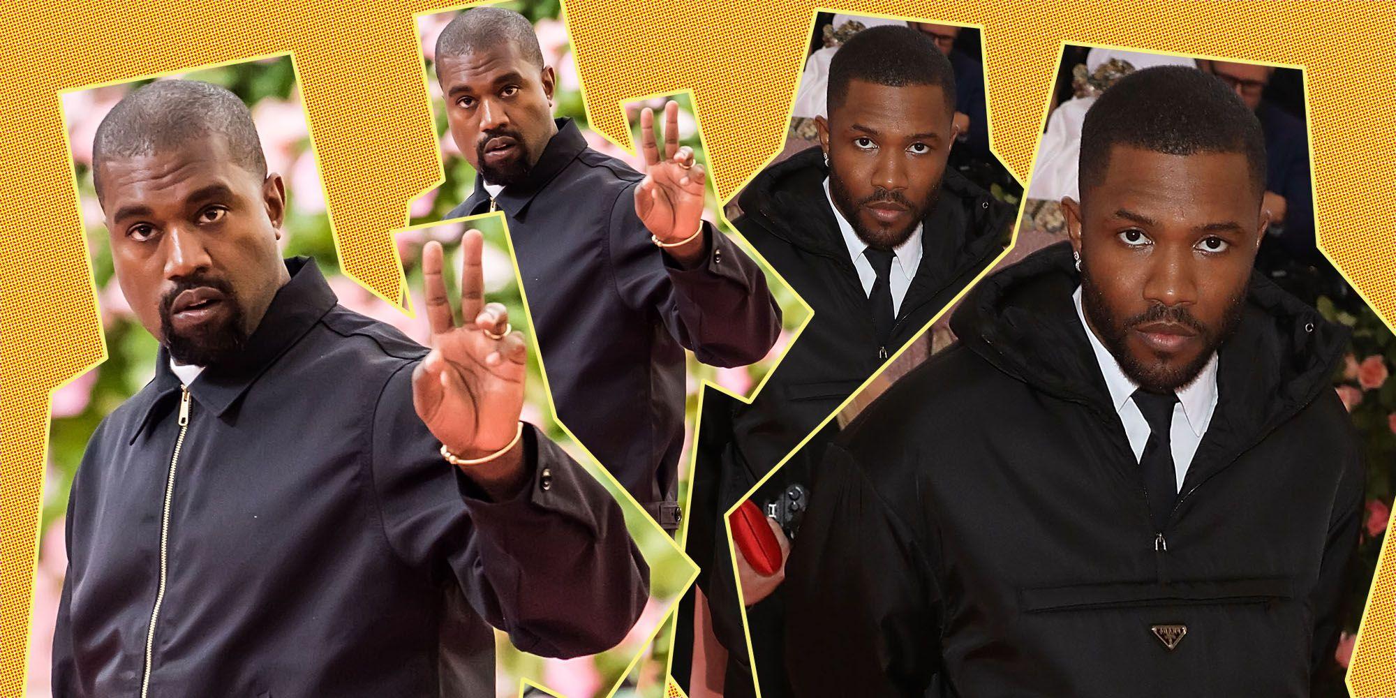 Kanye West Frank Ocean